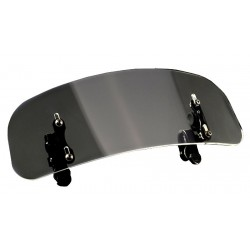 motorcycle universal adjustable windscreen, extension windshield - wind deflector screen / spoiler