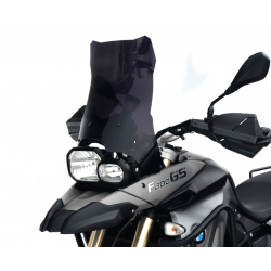motorcycle touring screen high windshield bmw f 800 gs 2008-2012