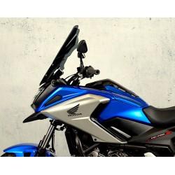 motorcycle high touring screen dark smoked windshield windscreen honda nc 750 x 2014-2015