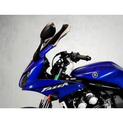 motorcycle windscreen touring windshield high screen yamaha fzs 600 2002-2003