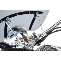 motorcycle universal chopper windscreen highway windshield custom screen