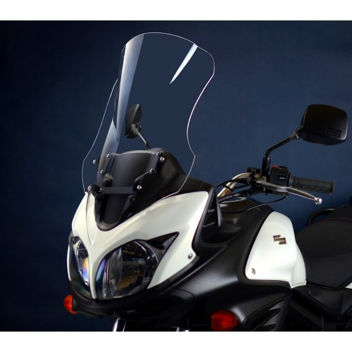 clear touring screen high windshield motorcycle windscreen suzuki dl 650 v-storm 2012-2016