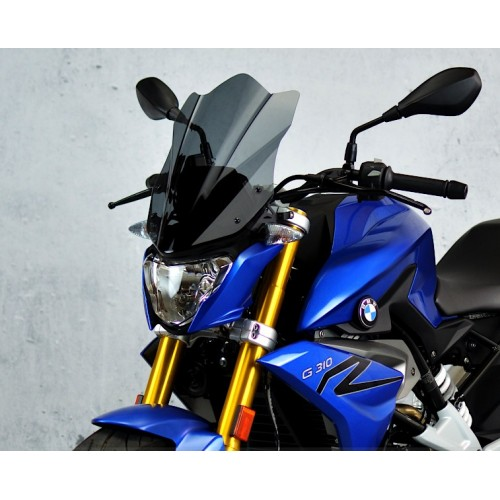 touring smoked screen high windshield motorcycle windscreen bmw g 310 r 2016 2017 2018 2019