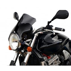 motorcycle windscreen racing screen smoked sport windshield honda cb 600 f hornet 2002-2004