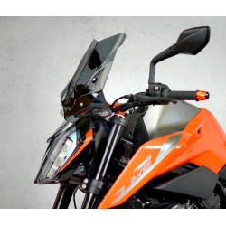 motorcycle windscreen touring screen smoked windshield ktm 790 duke 2018-2019