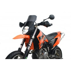 motorcycle windscreen high touring screen windshield ktm 640 lc4 supermoto 2005-2007