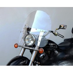 chopper screen windshield motorcycle windscreen kawasaki vn 800 vulcan classic 1999-2005