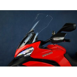 motorcycle windscreen touring screen high clear windshield ducati multistrada 1200 2013-2014