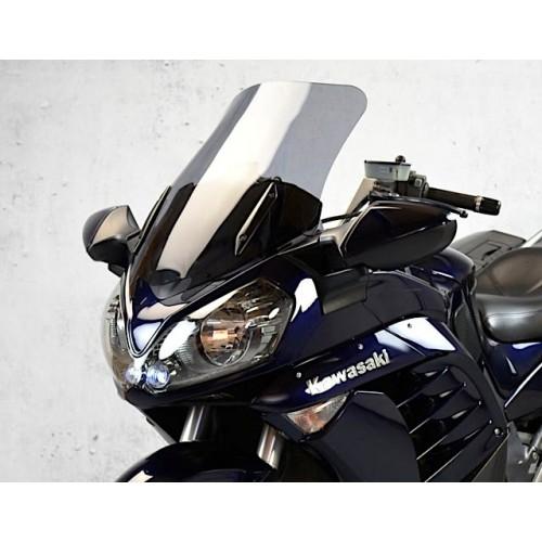 motorcycle screen standard windscreen replacement windshield smoked clear windshield kawasaki gtr 1400 2007-2015