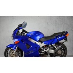 touring screen motorcycle windshield high black windscreen honda vfr 800 fi 1998-2001