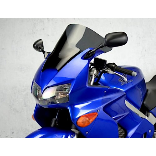 racing screen motorcycle sport windshield high dark windscreen honda vfr 800 fi 1998-2001