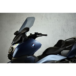motorcycle windscreen smoked touring screen high windshield bmw c 650 gt 2012-2018