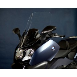 motorcycle windscreen clear touring screen high windshield bmw c 650 gt 2012-2018