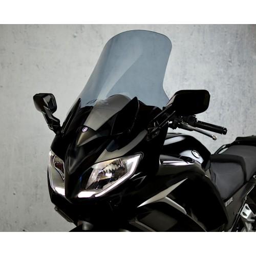 motorcycle windscreen touring screen high windshield smoked scheibe yamaha fjr 1300 2013 2014 2015 2016 2017 2018 2019
