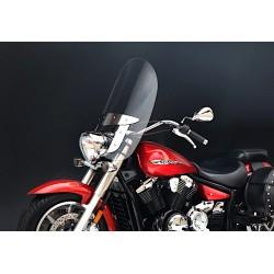 motorcycle windscreen screen windshield yamaha xvs 650 drag star 2008 2009 2010 2011 2012 2013 2014 2015