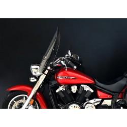 motorcycle windscreen chopper windshield high screen scheibe windschutz yamaha xvs 950 midnight star v-star 2009-2016