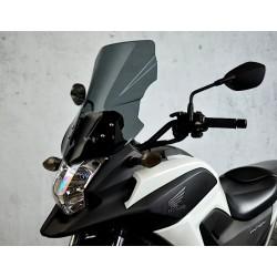 touring screen high windshield motorcycle windscreen dark windschutz scheibe honda nc 750 x 2014 2015