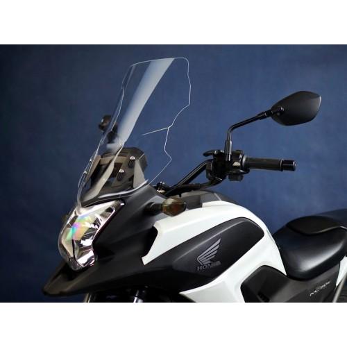 touring screen high windshield motorcycle windscreen clear windschutz scheibe honda nc 750 x 2014 2015