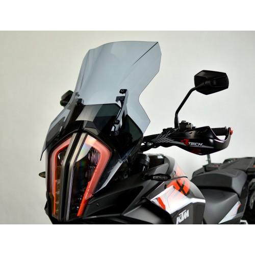 motorcycle windshield touring windscreen high screen smoked windschutz scheibe ktm 1290 adventure 2017 2018 2019