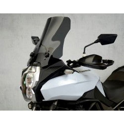 motorcycle windshield touring windscreen high screen dark windschutz scheibe kawasaki versys 1000 2012 2013 2014