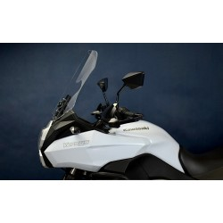 motorcycle windshield touring windscreen high screen clear windschutz scheibe kawasaki versys 1000 2012 2013 2014