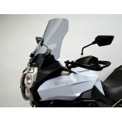 motorcycle windshield touring windscreen high screen smoked windschutz scheibe kawasaki versys 1000 2012 2013 2014