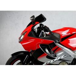 motorcycle screen racing windscreen smoked clear windshield windschutz scheibe honda cbr 600 f f4i 2001 2002 2003 2004 2005 2006