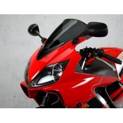motorcycle screen racing windscreen dark smoked windshield windschutz scheibe honda cbr 600 f f4i 2001 2002 2003 2004 2005 2006
