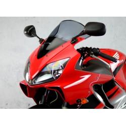 motorcycle screen racing high windscreen smoked windshield windschutz scheibe honda cbr 600 f f4i 2001 2002 2003 2004 2005 2006