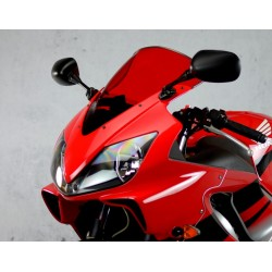 motorcycle screen racing windscreen red high windshield windschutz scheibe honda cbr 600 f f4i 2001 2002 2003 2004 2005 2006