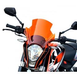 touring screen high windshield windscreen ktm 125 duke 2011-2016