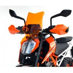 touring screen motorcycle windscreen high windshield orange windschutz scheibe ktm 390 duke 2017 2018 2019 2020