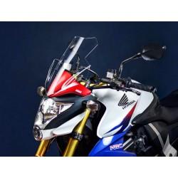touring windscreen tall windshield high clear screen honda cb 1000 R 2008 2009 2010 2011 2012 2013 2014 2015