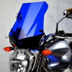 touring blue windscreen high windshield yamaha fz6 n 2004 2005 2006