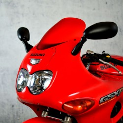 standard red front screen replacement windshield windscreen suzuki gsx 600 f 1998-2007