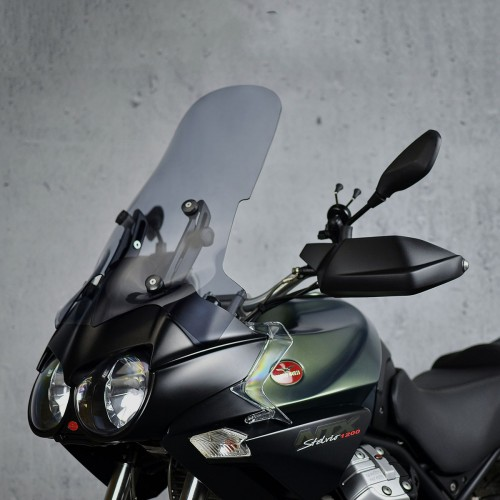 touring screen windshield moto guzzi stelvio 1200 ntx 2011 2012 2013 2014 2015 2016