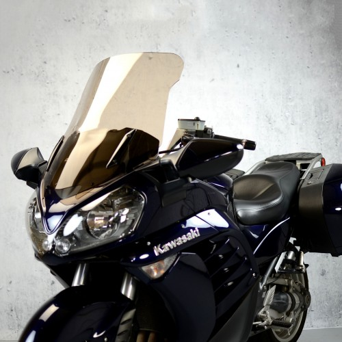 motorcycle screen touring windscreen replacement windshield smoked clear windshield kawasaki gtr 1400 2007-2015
