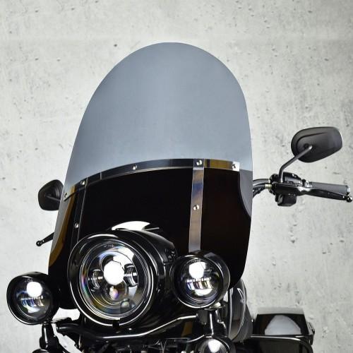 harley davidson flhr l road king windscreen windshield chopper standard painted screen 1994 1995 1996 1997 1998 clear smoked