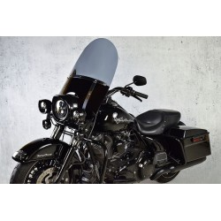 harley davidson flhr l road king windscreen windshield chopper standard painted screen 1994 1995 1996 1997 1998 smoked dark