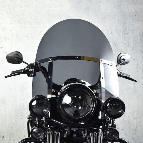 harley davidson flhr l road king windscreen windshield chopper standard painted screen 2007 2008 2009 2010 2011 2012 smoked