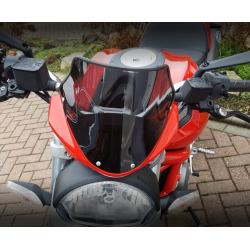 racing screen sport windshield windscreen ducati monster 696 2009-2014