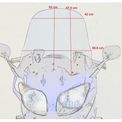 touring windscreen high windshield yamaha fjr 1300 2001 2002 2003 2004 2005 dimensions