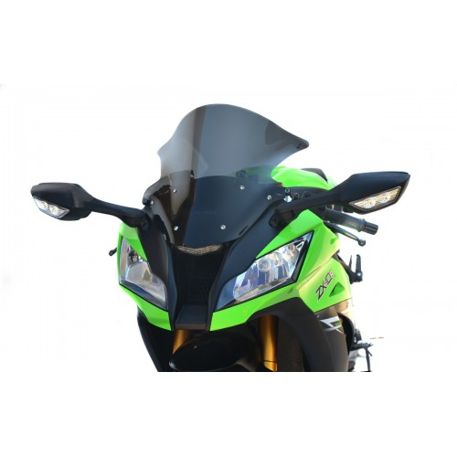 racing screen sport windshield windscreen kawasaki zx 10r ninja 2011-2015