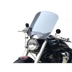 chopper windscreen windshield yamaha xv 1700 road star warrior 2002-2010
