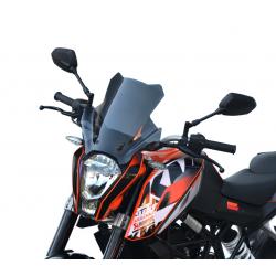 touring screen high windshield windscreen ktm 390 duke 2013-2016