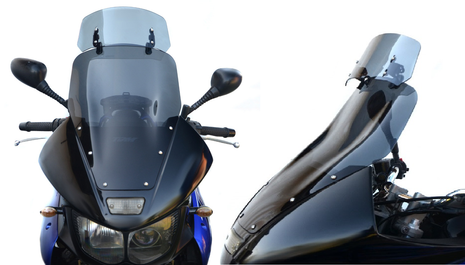 deflectors motorcycle windscreen and windshields wind extension