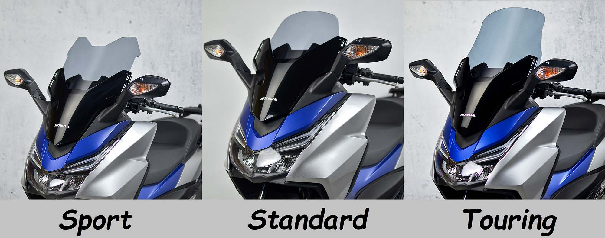 buying a motorcycle windscreen or motorcycle wind deflector