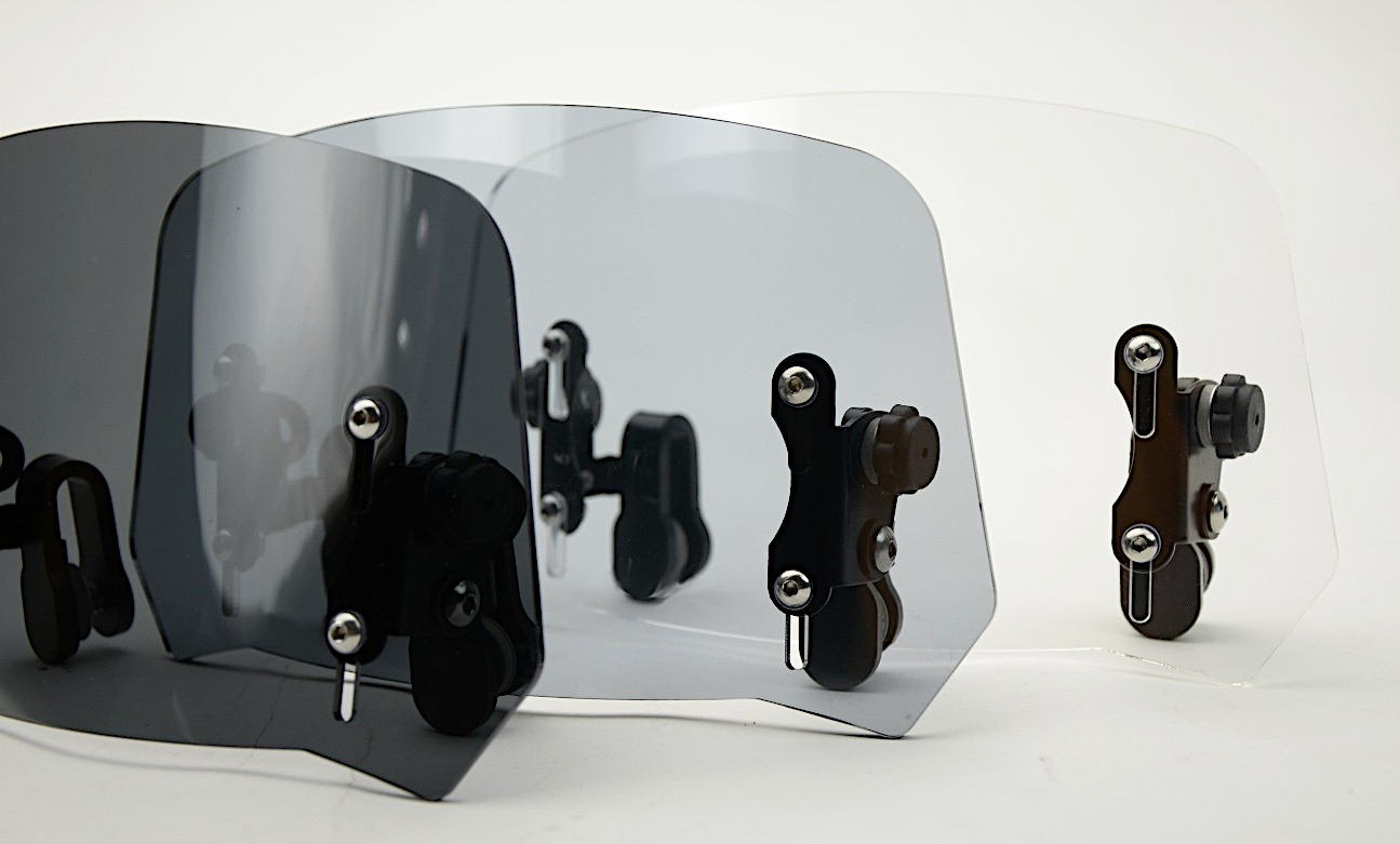 deflectors motorcycle windscreen and windshields